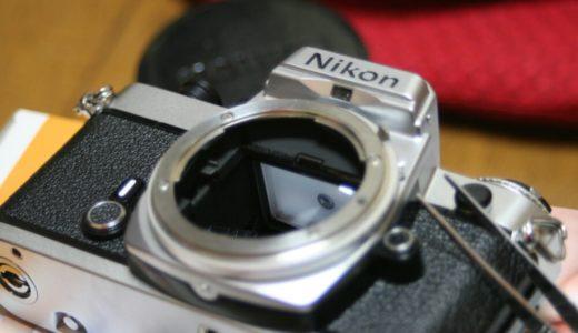 ジャンクコーナーで激安なフィルムカメラを手に入れたらモルト交換をしてみよう