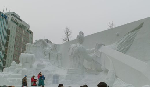 札幌雪祭りを初代SIGMA DP-1で撮影