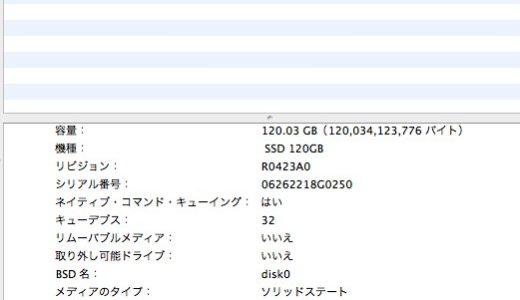 社外SSDに換装した旧型MacBookのTrimを有効化する【Snow Leopard】